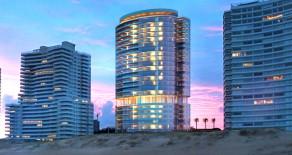 Uy 018 157 exclusivas unidades distribuidas en 24 pisos con vista al océano.