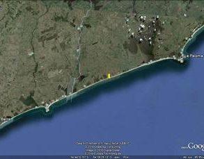 Uy  074  Emprendimiento inmobiliario Las Garzas, ubicado en Km 208 de Ruta 10, Departamento de Rocha.